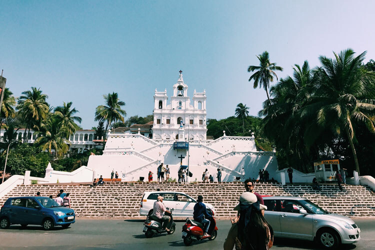 Church - Fontainhas, Panjim, Goa, India