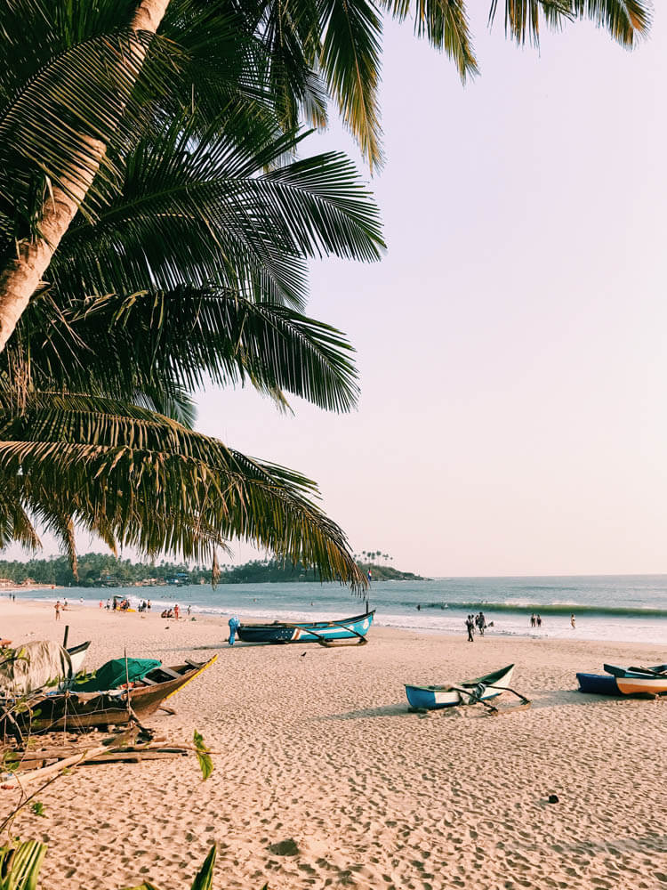 Palolem beach, Goa, India