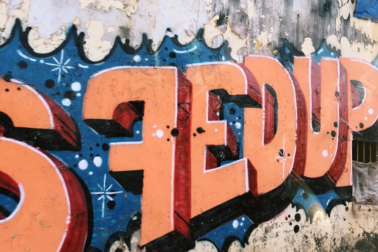 Goa, India street art