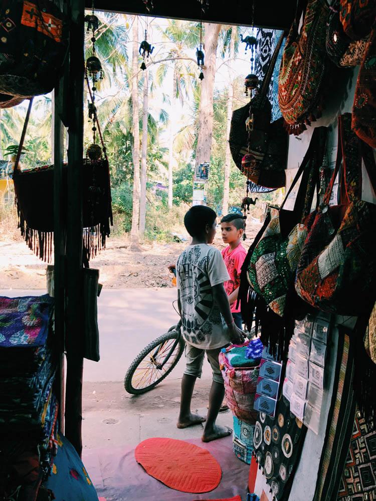 Shopping, Palolem, Goa, India