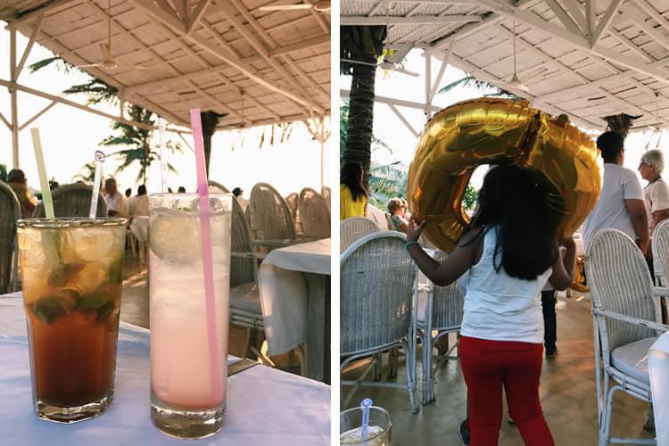 Thalassa restaurant, Vagator Beach, Goa, India